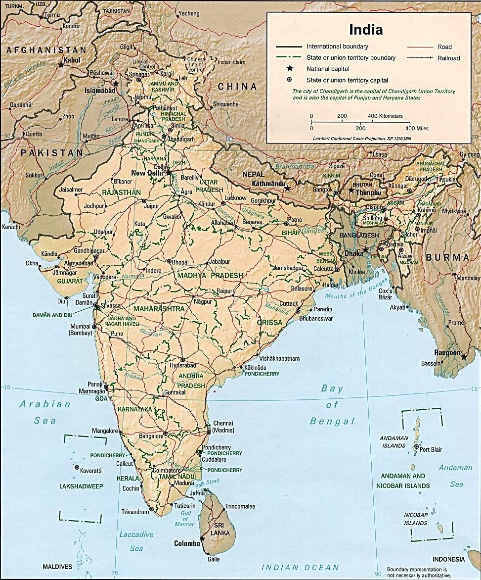 Pls Give India U0026 39 S Map With All District  U0026 City Names